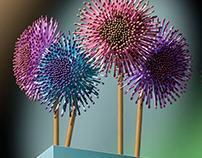 Matchstick Bouquet