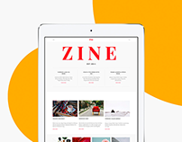Zine UI Kit