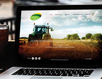 Website Design For Koutof Agri Compnay - Syria