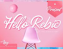 Hello Rebic - Script Font