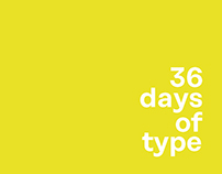 36 Days of Type I 3rd Edition