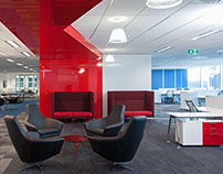Major Corporate Sydney Workplace Design