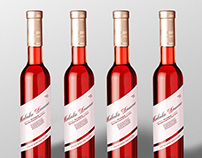 Maladie d'Amour'; Valentine wine packaging