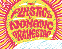 The Plastics & Nomadic Orchestra Poster