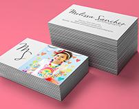 Logo/Business Card Design: Melissa Sanchez Photography
