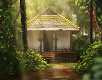 Temple | Painting Study