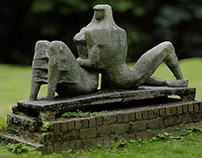 "Sculpture ""Lovers"" (CGI)"