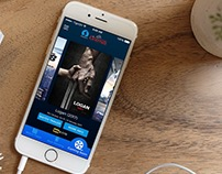 Silverbird Cinema App Design