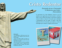 Pendant and package inspired on Christ The Redeemer