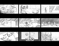 Storyboard / Commercial
