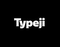 Typeji Logotype and Visual System