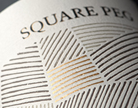 Square Peg Wine Label & Package