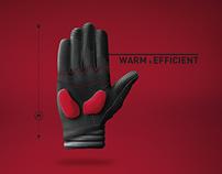 MTB winter gloves concept