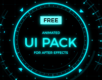 Animated UI Pack for After Effects [free]