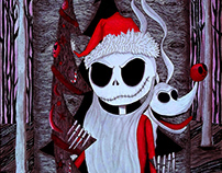 Redesign - Poster The Nightmare Before Christmas