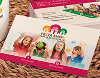 FestaShop - Tarjetas personales