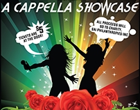 SAI A Cappella Showcase Flyer