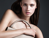 «BAG CAMPAIGN» by Andrews Kovas for I'm a model