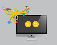 Tatenkrake Platform Logo & Visual