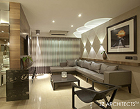 SHOW APARTMENT IN MUMBAI, BY ZZ ARCHITECTS