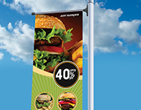 Outdoor Advertising | Banner Design | Roll up Banner