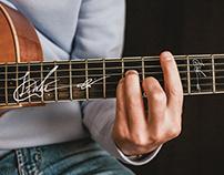 LiWei 木吉他簽名 LOGO