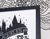 Harry Potter Poster/T-shirt BR