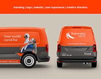 Towcester Vets Re-brand