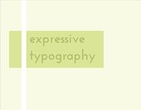 Expressive Typography | Vector Graphics