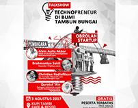 Talkshow Technopreneur DI Bumi Tambun Bungai