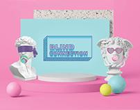 Blind Connection Event Brand Design