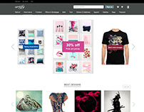 """Artify"" web design concept"
