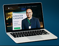 Doctor's personal landing page