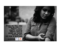Print Campaign on Domestic Violence