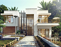 Modern villa in Australia