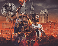 2017 Cleveland Cavaliers NBA Finals Graphics Package