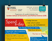 Poster Design | ISBF Spend-a-Day