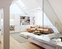 CGi_Apartment renovation in London, ISV Architects