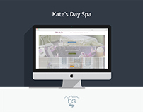Kate's Day Spa | Website Re-Design