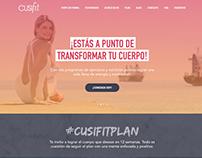 Cusifit Website