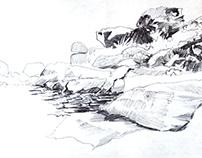Carnets de voyages : Sketches 1