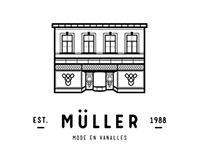 Logo & Identity Müller