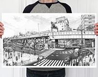Namba Station LTD - Print Available
