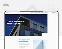 DS Smart house - Landing page