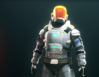 CGI Astronaut