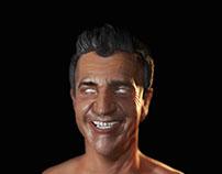 Mel Gibson Fiber
