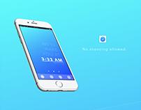Clockless - A minimalist alarm clock