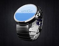 uniGo Smartwatch app concept