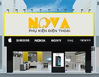 Logo phụ kiện điện thoại NOVA