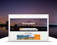 Self Travel Guide - Explore Armenia Website
